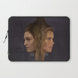 Two Minds, One body Laptop Sleeve