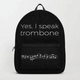Yes, I speak trombone Backpack