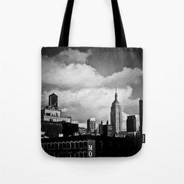 NYC Skyline 2012 (film grain) Tote Bag