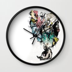 FatToy Idleness* Wall Clock