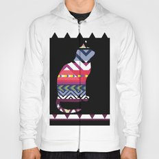 Tribal Feline Hoody