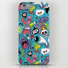 Doodled Pattern Slim Case iPhone 6s Plus