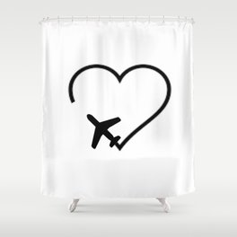 Travel Completes the Soul Shower Curtain