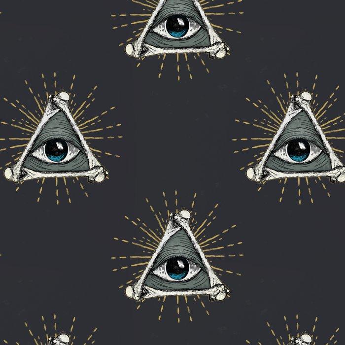 All seeing eye of God Leggings