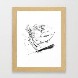 The real me Framed Art Print