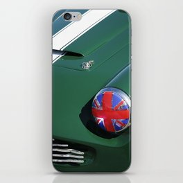 Union Jack Headlight iPhone Skin