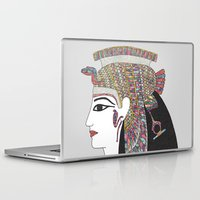 egyptian Laptop & iPad Skins featuring EGYPTIAN GODDESS by Bianca Green