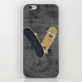 V for skateboard iPhone Skin