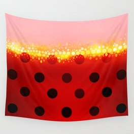 miraculous ladybug designs 1/2 Wall Tapestry