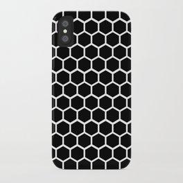 Graphic_Cells Black&White iPhone Case