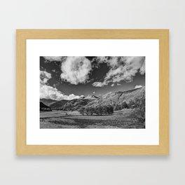 The Langdale Pikes Framed Art Print