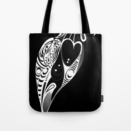 Bird Black Version Tote Bag