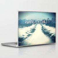 wanderlust Laptop & iPad Skins featuring Wanderlust by Armine Nersisian