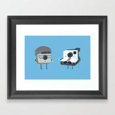 Insta-Duel Framed Art Print