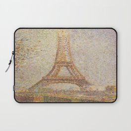 George Seurat's La Tour Eiffel Laptop Sleeve