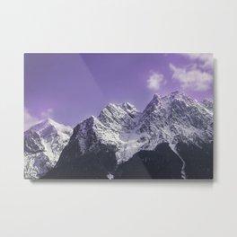 Eibsee mountains in Bavaria Germany Metal Print