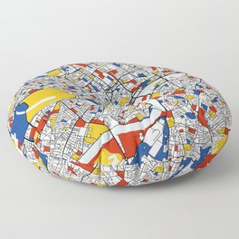 London Mondrian Floor Pillow