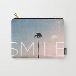 Palm tree Smile Carry-All Pouch