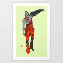 X6 Art Print