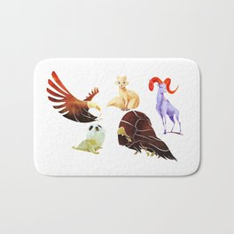 Arctic animals Bath Mat