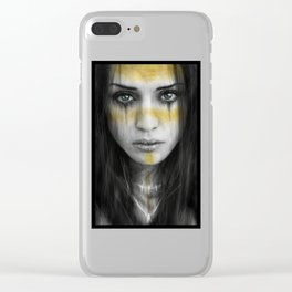 Sorrowful Fortune Clear iPhone Case