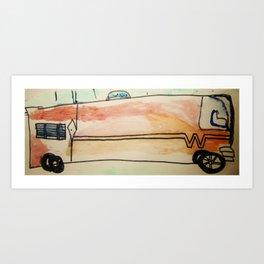 Winnebago Art Print
