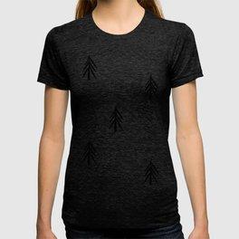 nordic fir trees T-shirt
