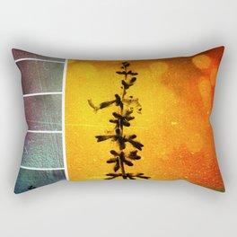 Pervoskia Collage Aflame Rectangular Pillow