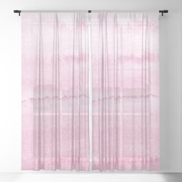 WITHIN THE TIDES SOFT CASHMERE Sheer Curtain