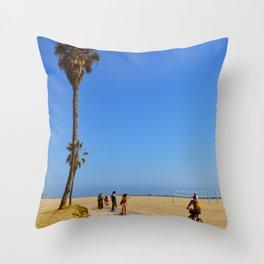Venice B Throw Pillow