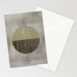 Glamorous Golden Circle Sparkling Elegance Stationery Cards
