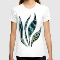 tapestry T-shirts featuring Native Tapestry by Charma Rose