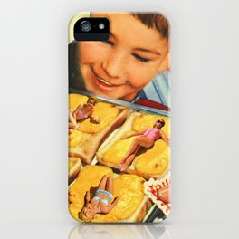 Girls on toast iPhone Case