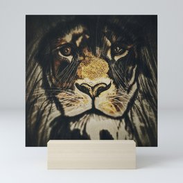 Noble Lion Mini Art Print