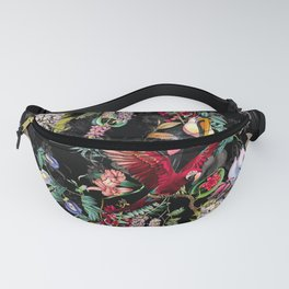 Floral and Birds IX Fanny Pack