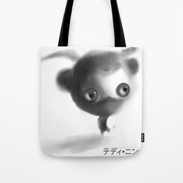 Teddy Ninja Tote Bag