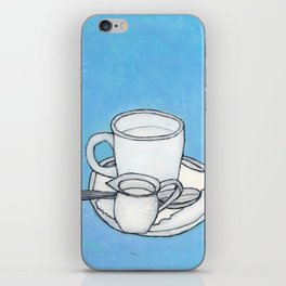 coffee and spoon iPhone Skin