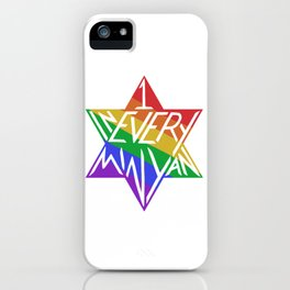 one in every minyan iPhone Case