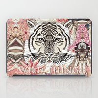 tiger iPad Cases featuring TIGER by Monika Strigel