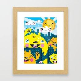 Monsters ( 2007 ) Framed Art Print