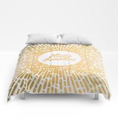 Hello Sunshine Gold Comforters