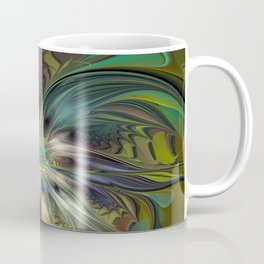 Colorful Abstract Fractal Art Coffee Mug