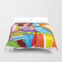 discount Duvet Covers featuring Creative Title : DISCOUNT by Don Kuing