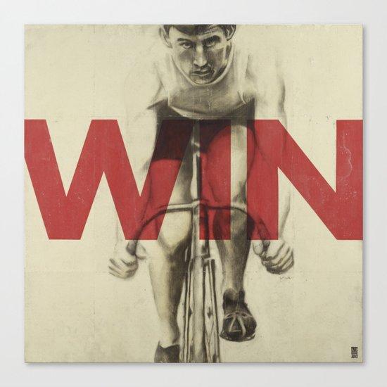 Win Canvas Print