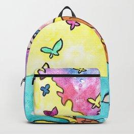 Mer-Butterflies Backpack