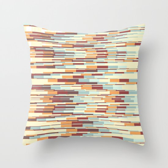 Abstract pattern 67 Throw Pillow