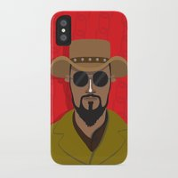 django iPhone & iPod Cases featuring Django by Mohac