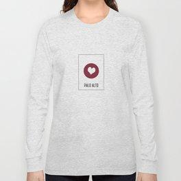 I Love Palo Alto Long Sleeve T-shirt