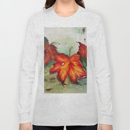 Autumn Leaves (Platanus) Long Sleeve T-shirt