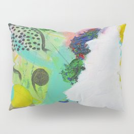 Mixed Colors on Canvas Pillow Sham